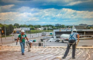 Commercial Flat Roofing Projects | Topsroofing Canada