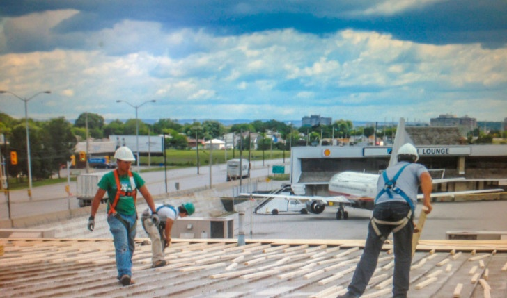 Commercial Flat roofing Company Oakville