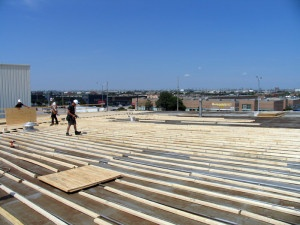 Commercial Flat Roofing Services | Topsroofing Projects