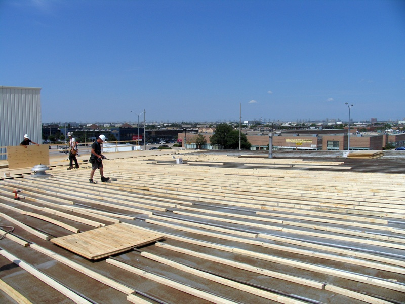 Milton commercial roofing