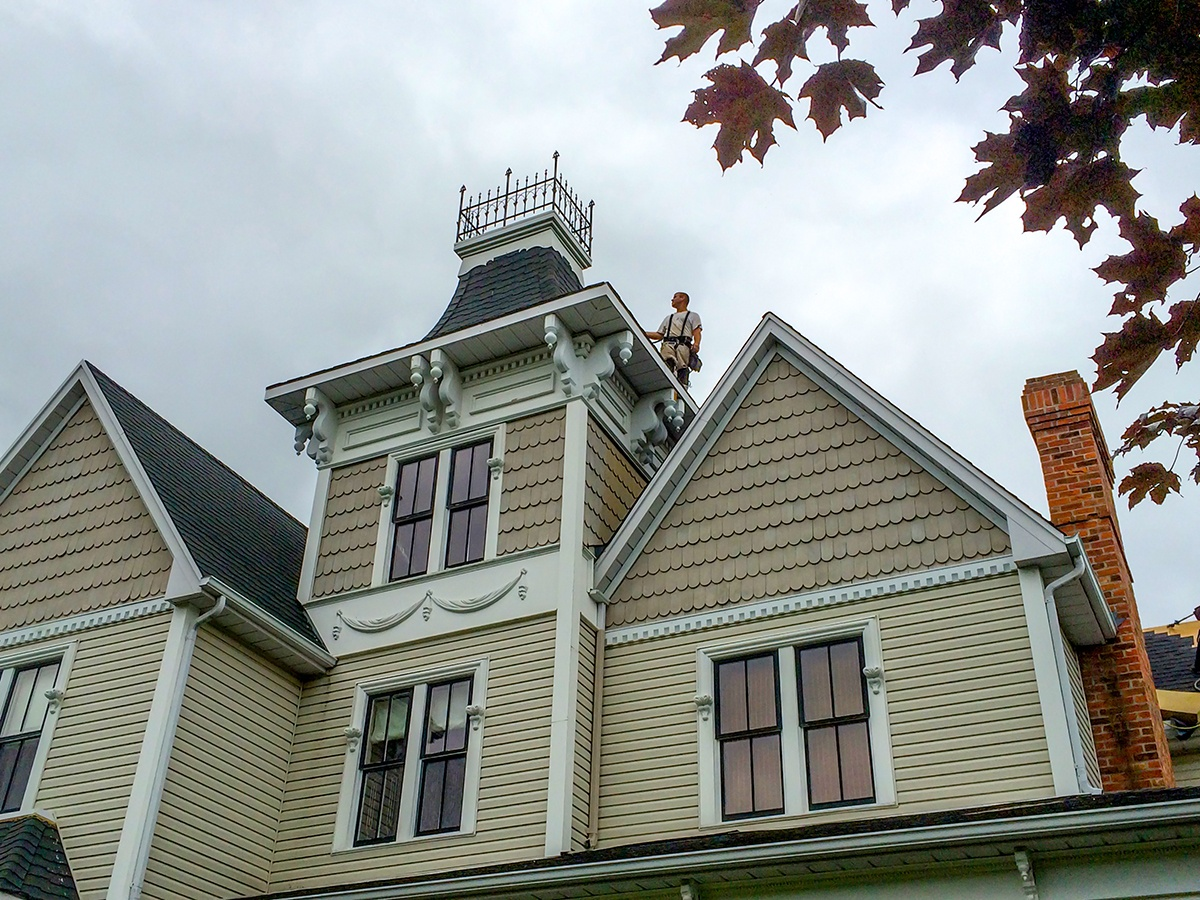 Residential Shingle Roofs