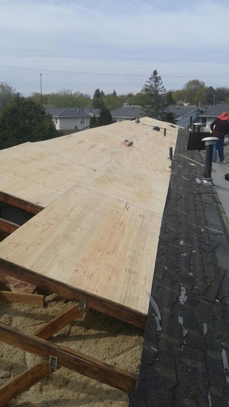 Tops Roofing Company Work sites