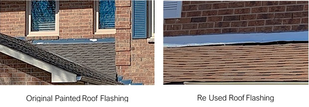 Roof Flashing - New & Used