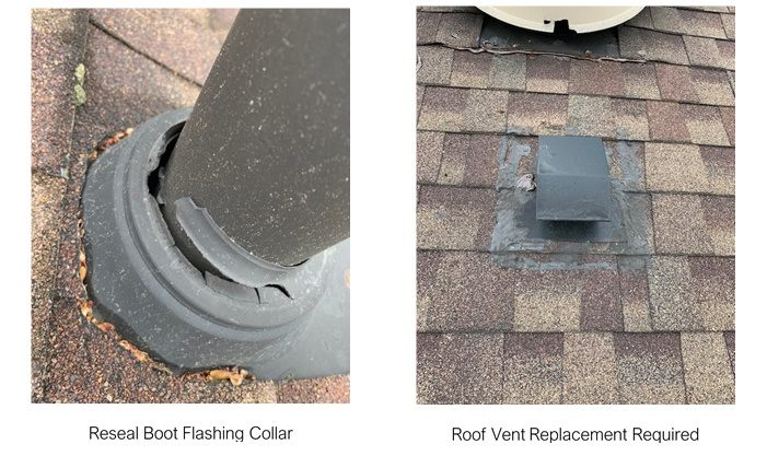 Roof vents & Roof Flashings